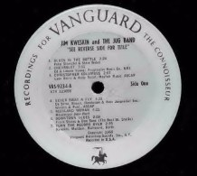 Vanguard VRS-9234, Jim Kweskin and the Jugband : See reverse side for title