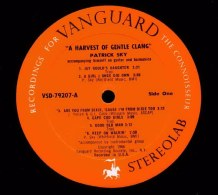 Vanguard VSD-79207, Patrick Sky : A harvest of gentle clang